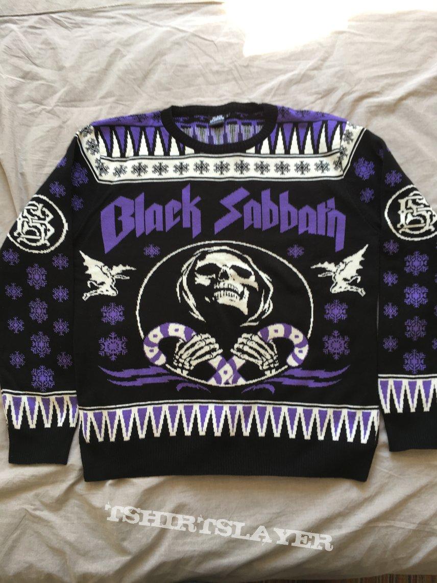 Black Sabbath Christmas Sweater.Black Sabbath Christmas Sweater 2017 Tshirtslayer
