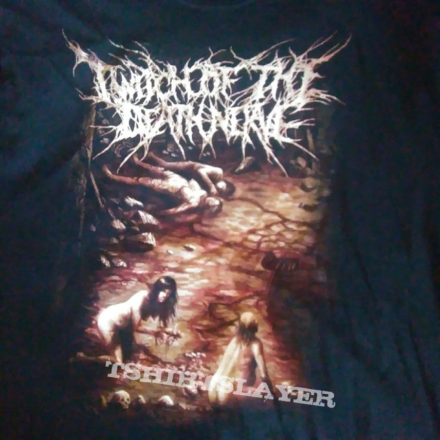 Twitch of the dead nerve large t-shirt