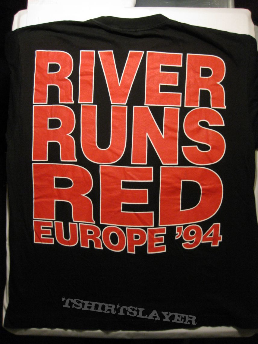 """TShirt or Longsleeve - LIFE OF AGONY """"R.R.R. Europe 1994"""" """"River Runs Red"""" Shirt XL  - nearly new - perfect condition!!!"""