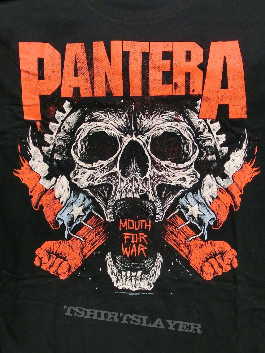 "PANTERA ""Mouth For War"" Shirt 2012"