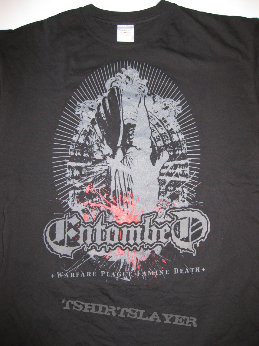 """TShirt or Longsleeve - ENTOMBED """"Soldier Of The Apocalypse"""" Shirt 2009"""