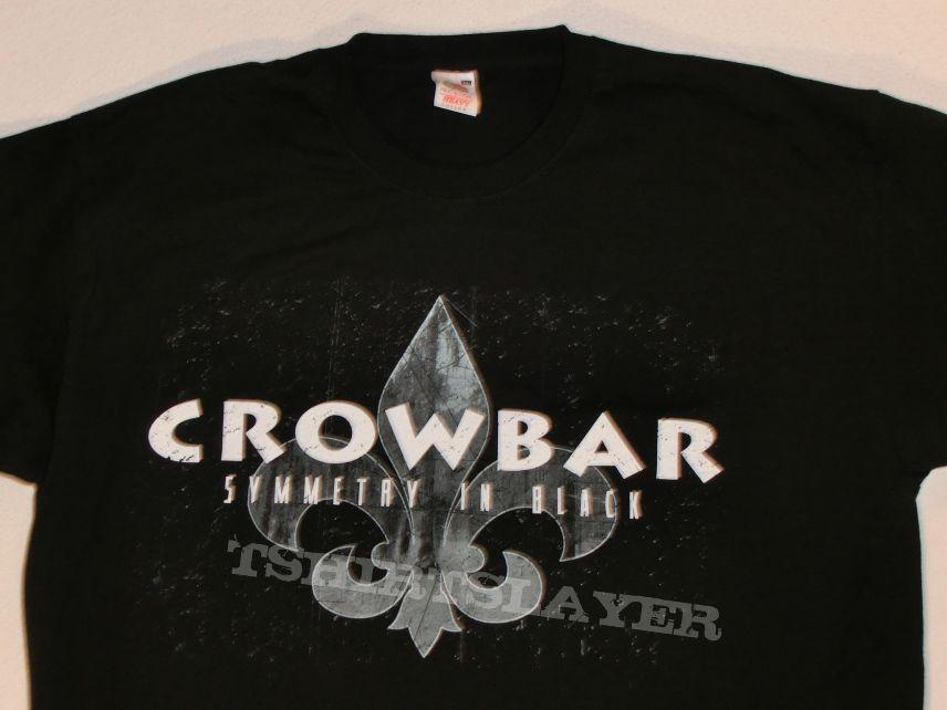 "Crowbar ""Symmetry in Black"" 2014 T Shirt"