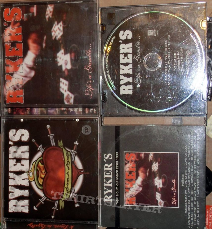 Ryker´s  CD Vinyl Collection Pt.3  1997 - 1999