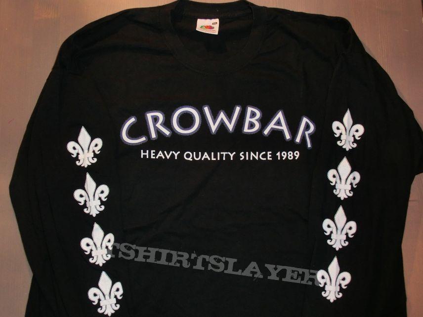 """Crowbar """"Heavy Quality since 1989"""" - C.Y.W. Tour Longsleeve 2004"""