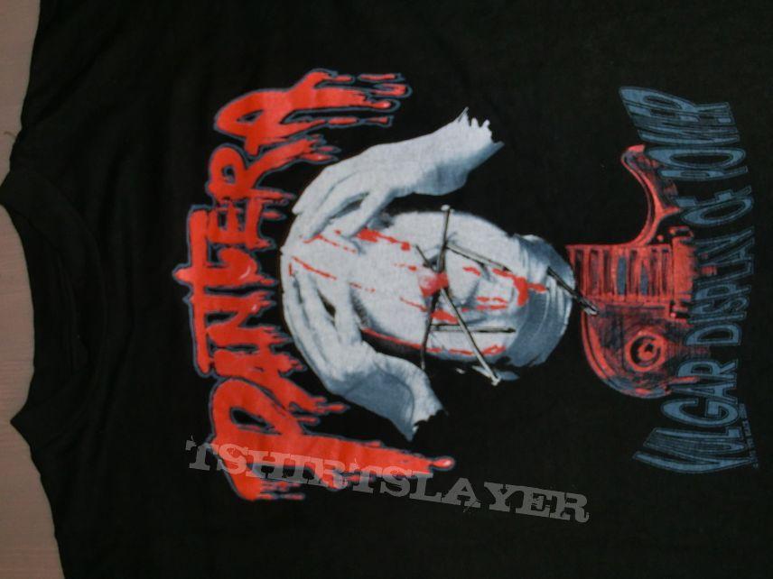 "Pantera ""Vulgar Display of Power"" 1992 T Shirt - © the black sheep"