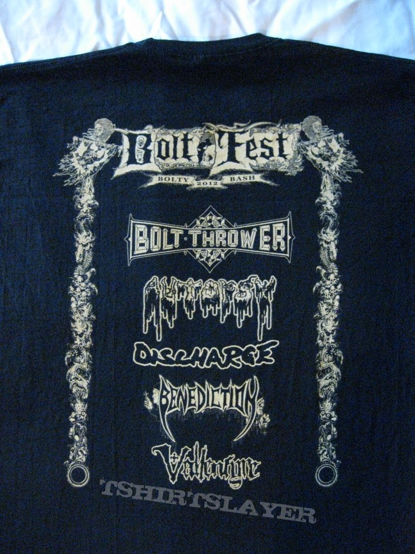 "BOLT THROWER ""Bolt Fest London"" 2012 - 26th BEERSday"
