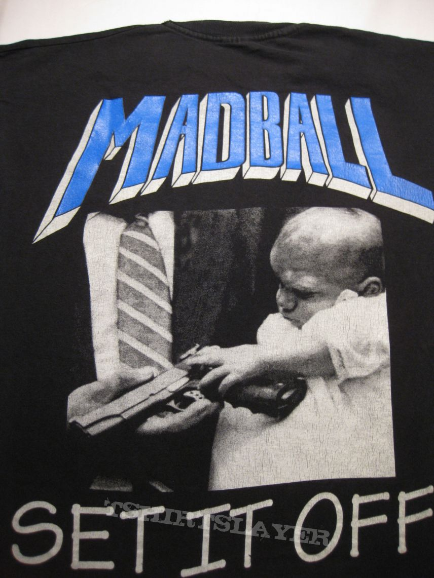 "TShirt or Longsleeve - MADBALL ""Set It Off"" Longsleeve 1994"