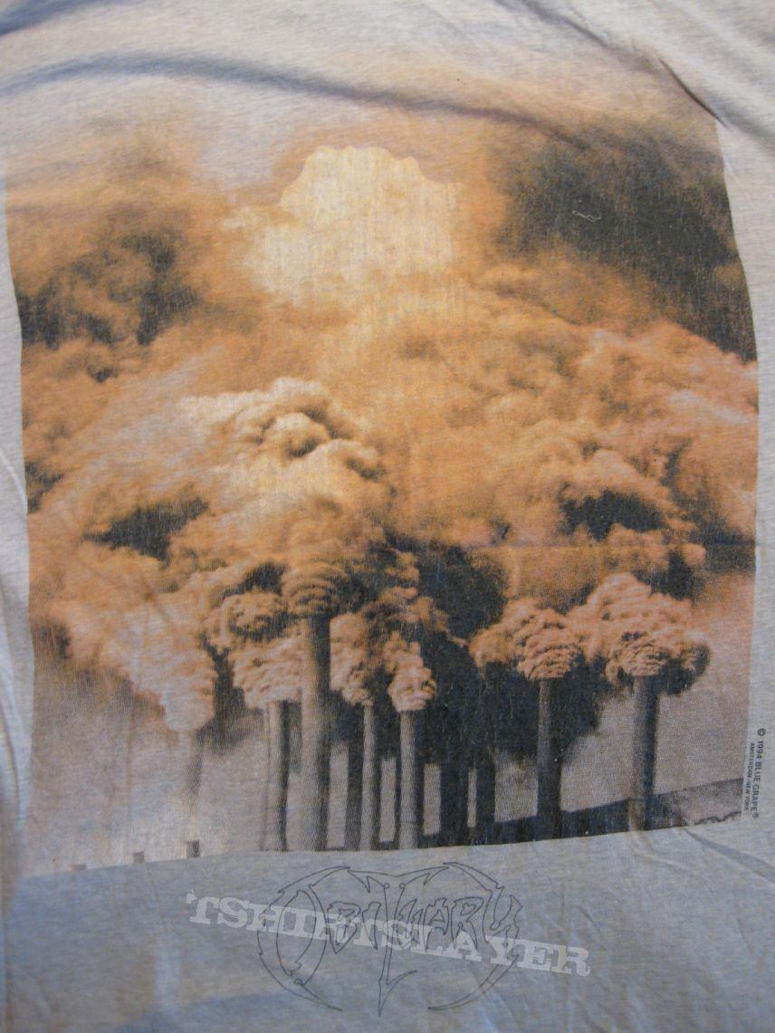 "TShirt or Longsleeve - Obituary ""World Demise""  1994 Grey Shirt  - XL  - FOR SALE!!!"