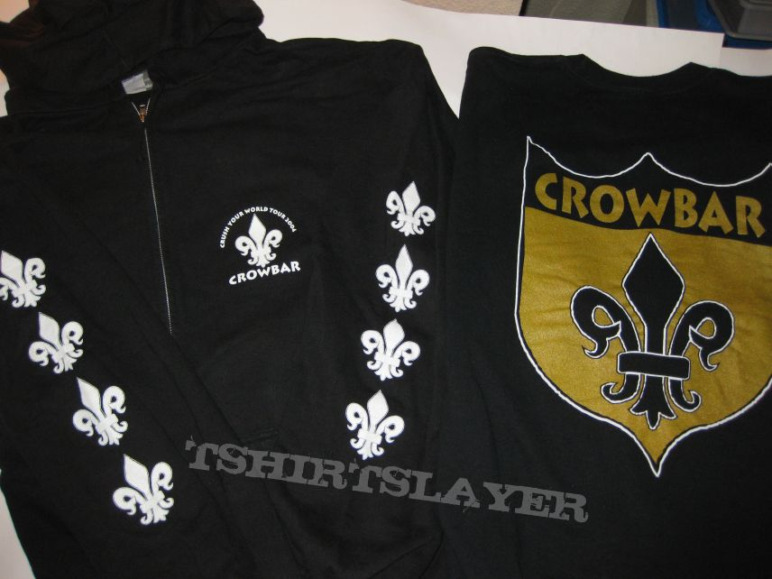 "Crowbar ""Crush Your World"" Tour 2004 Hooded Zipper"