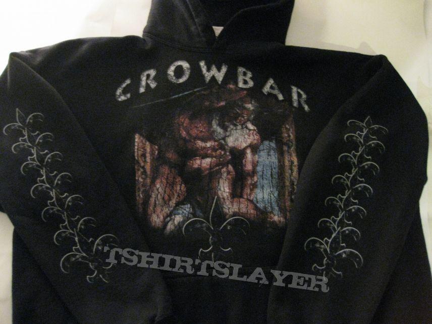 "Crowbar ""Obedience Thru Suffering"" Re-Print 2009 Hooded Sweat Shirt"