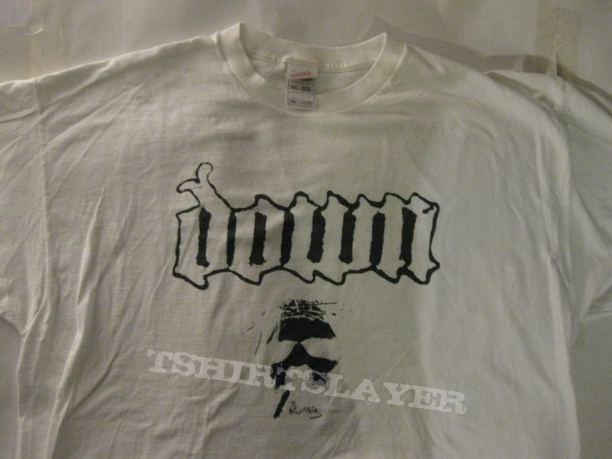 "TShirt or Longsleeve - DOWN ""Smoking Jesus"" Shirt XXL  - 1st Print - white shirt -"