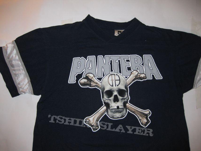 "TShirt or Longsleeve - PANTERA ""CFH"" COWBOYS FROM HELL FOOTBALL JERSEY Euro Tour 2000"