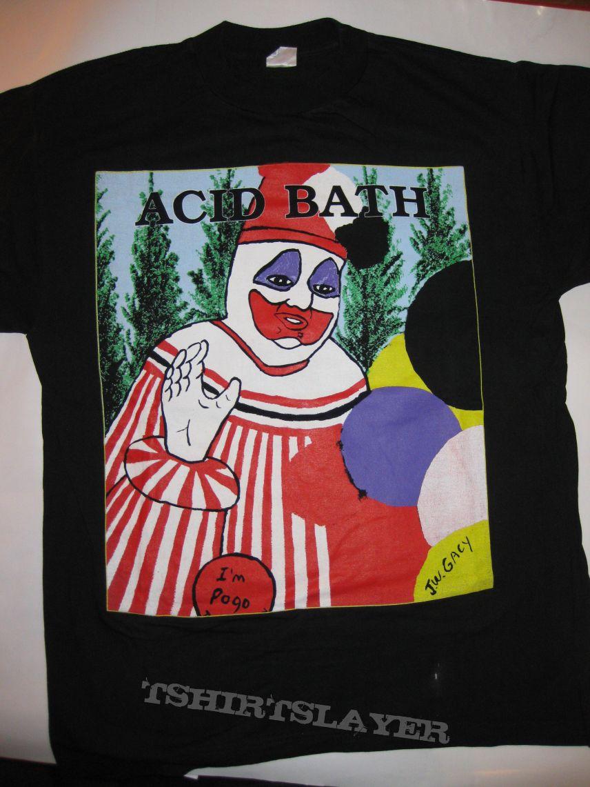 "TShirt or Longsleeve - ACID BATH ""Pogo The Clown"" - ""When the Kite String pops"" 1999"