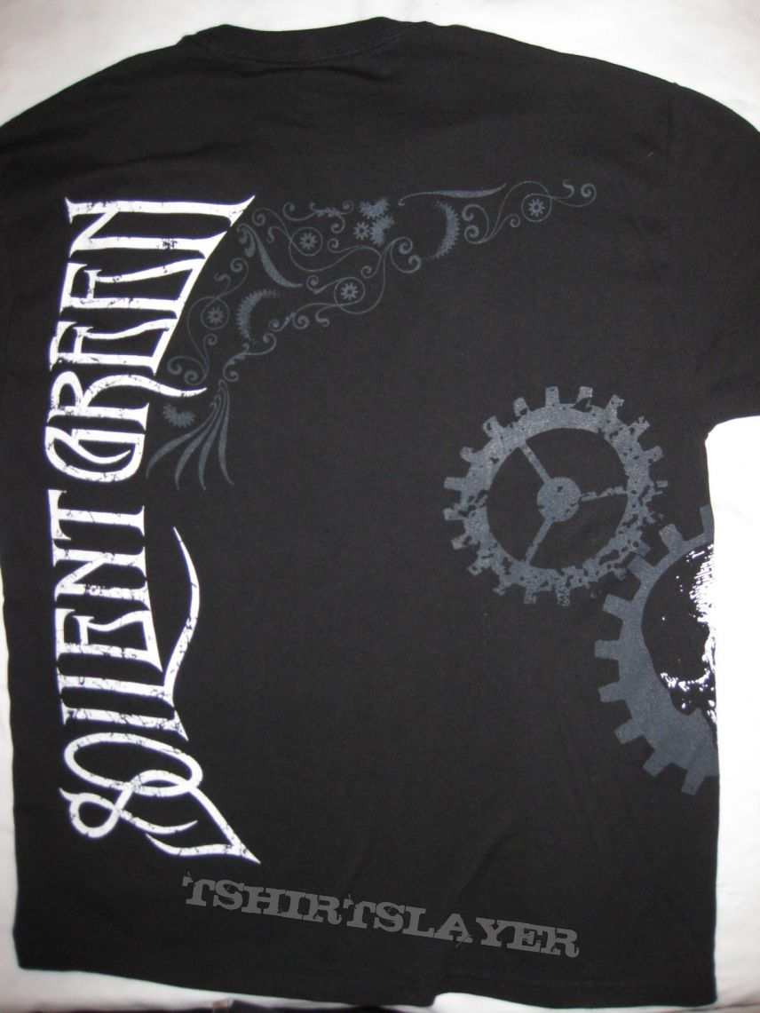 TShirt or Longsleeve - SOILENT GREEN Shirt 2011 Inevitable Collapse in the Presence of Conviction  - Great Allover Print L