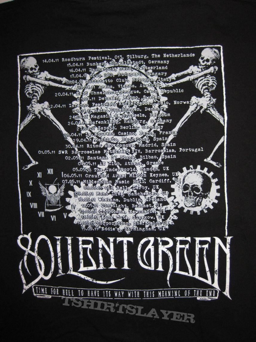 TShirt or Longsleeve - SOILENT GREEN Tour Shirt 2011 Inevitable Collapse in the Presence of Conviction