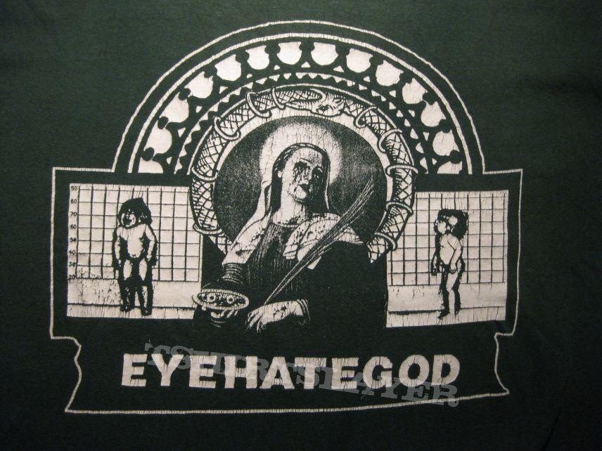 "TShirt or Longsleeve - EYEHATEGOD ""Kill Your Boss"" 2001 green shirt"
