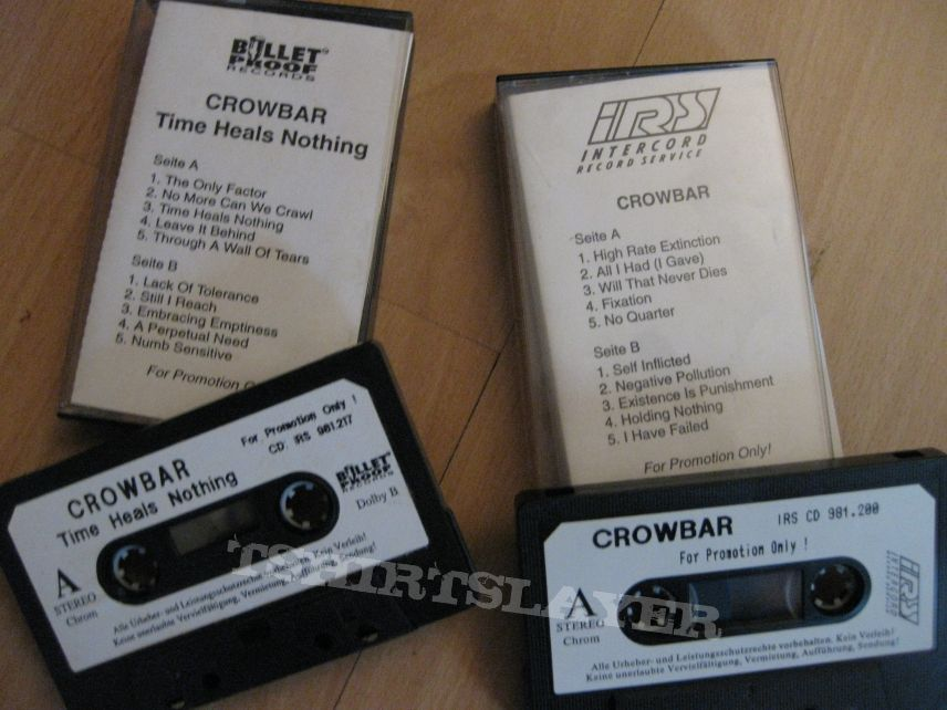 Other Collectable - CROWBAR CD Collection Promos Cassettes