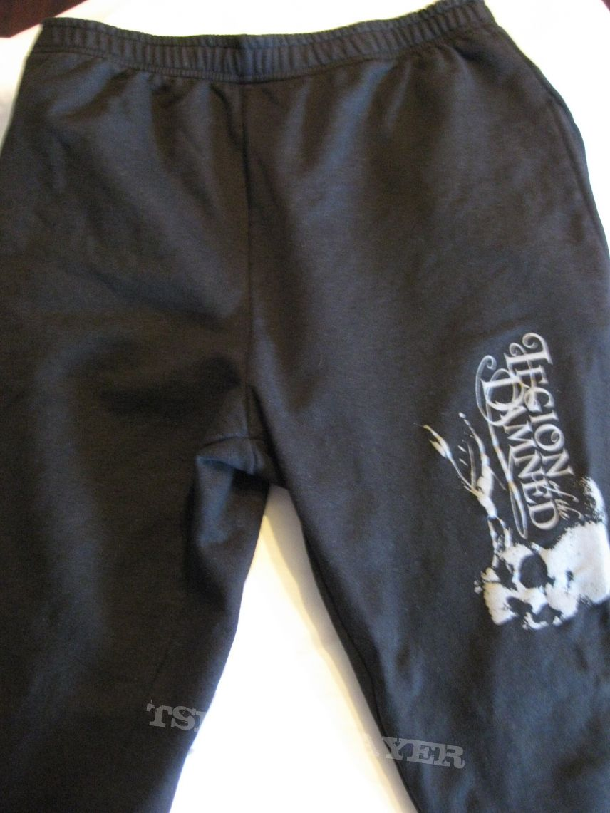 """Other Collectable - Legion Of The Damned """"Logo / Skull"""" Old School As Fuck Jogging Pants  - sport & couch Battle Gear! 2007"""