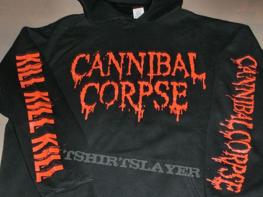 "Cannibal Corpse ""Logo - Kill"" Hooded Sweatshirt 2006"