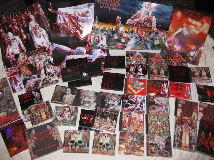 507d1663f32 CANNIBAL CORPSE Collection - 1st Press - Re-Releases