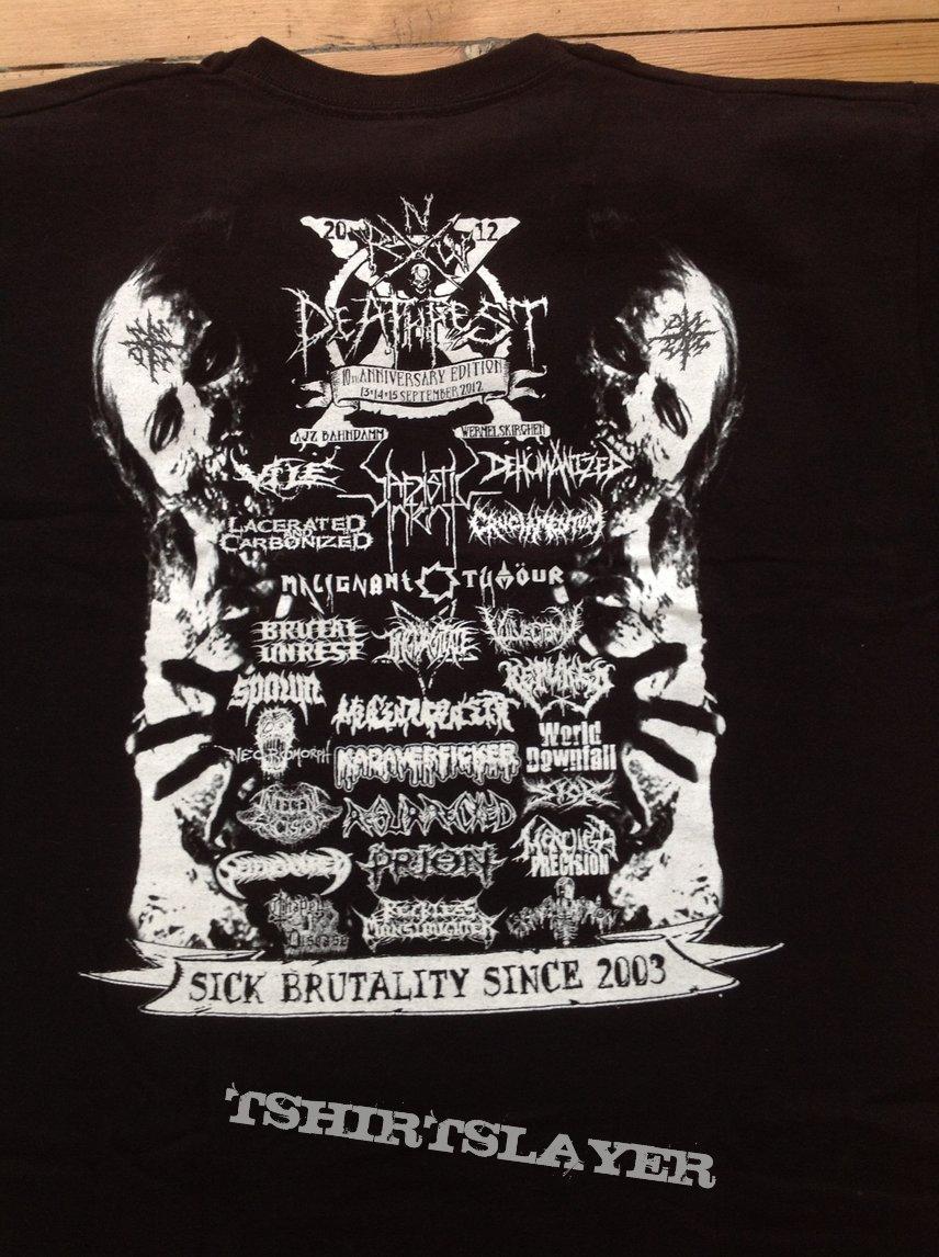 NWR DEATHFEST shirt 2012