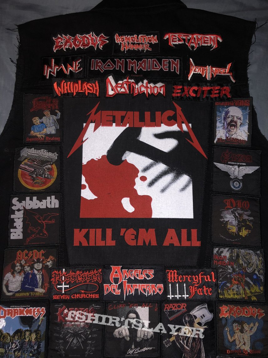 Soon to be full out patch loaded vest
