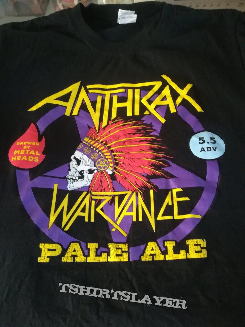 Anthrax 2019 tour T-shirt