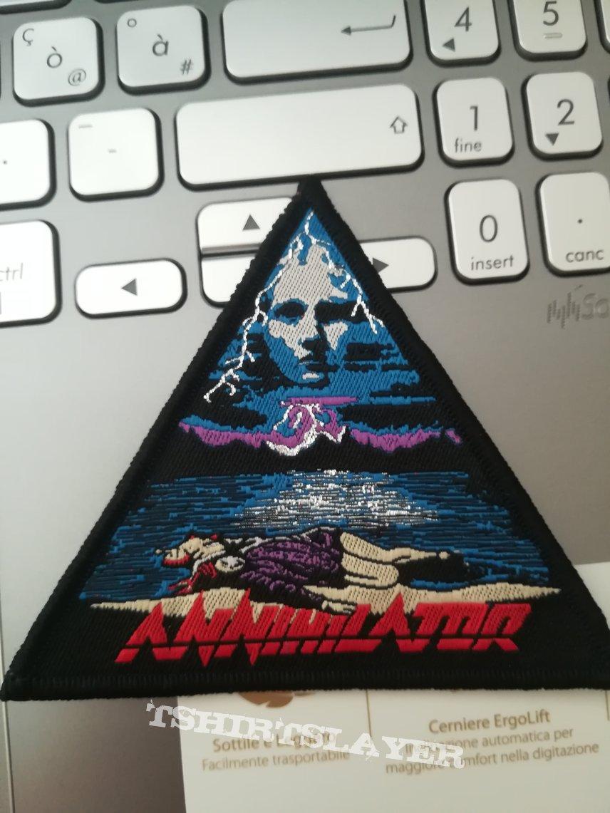 Annihilator - Never, Neverland patch