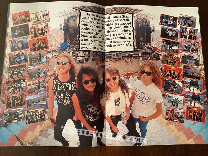 Metallica - Damaged justice 88-89 Tourbook