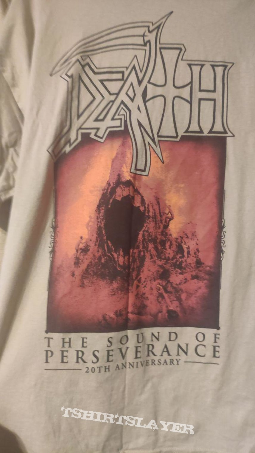Death - The Sound of Perseverance 20th Anniversary Relapse official t-shirt XL