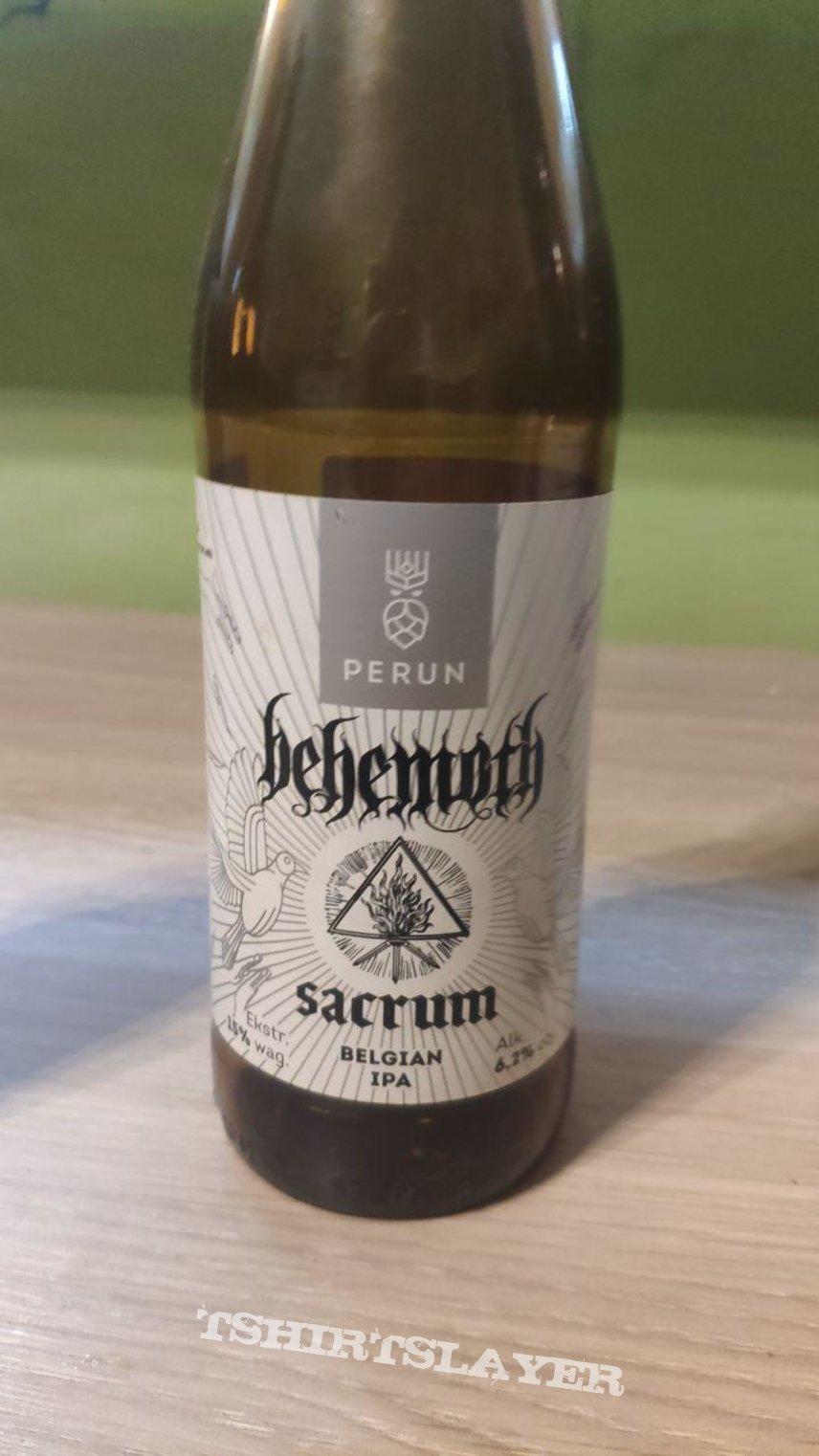 Behemoth - Sacrum (Beer from Browar Perun)