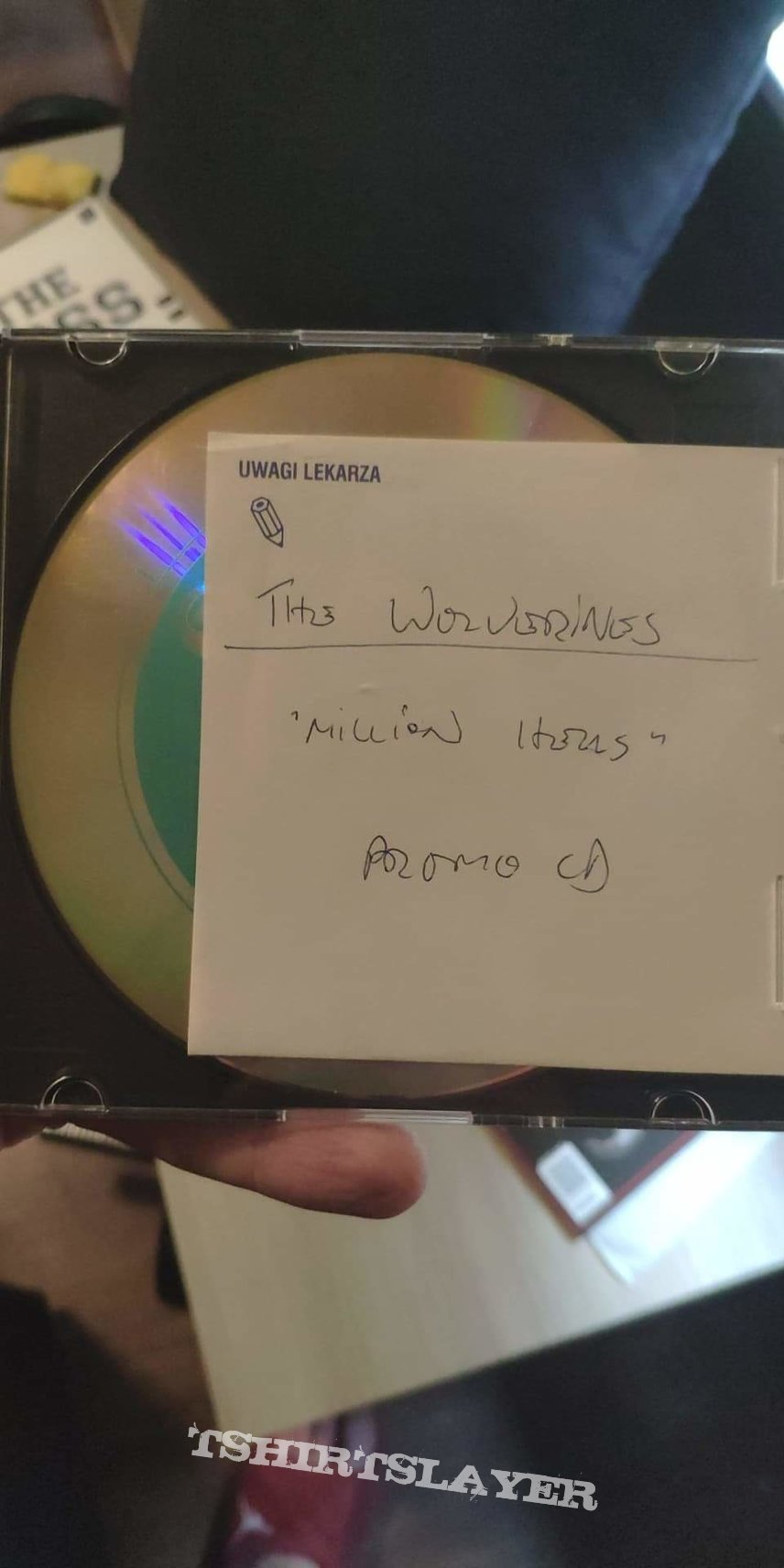 The Wolverines promo CD (Nergal side project 2000