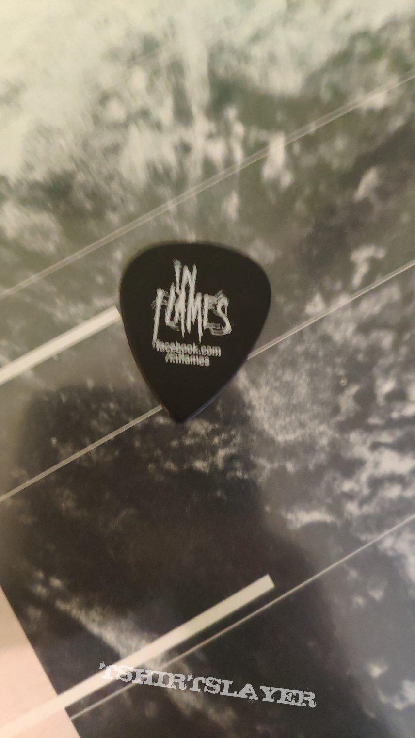 In Flames guitar pick