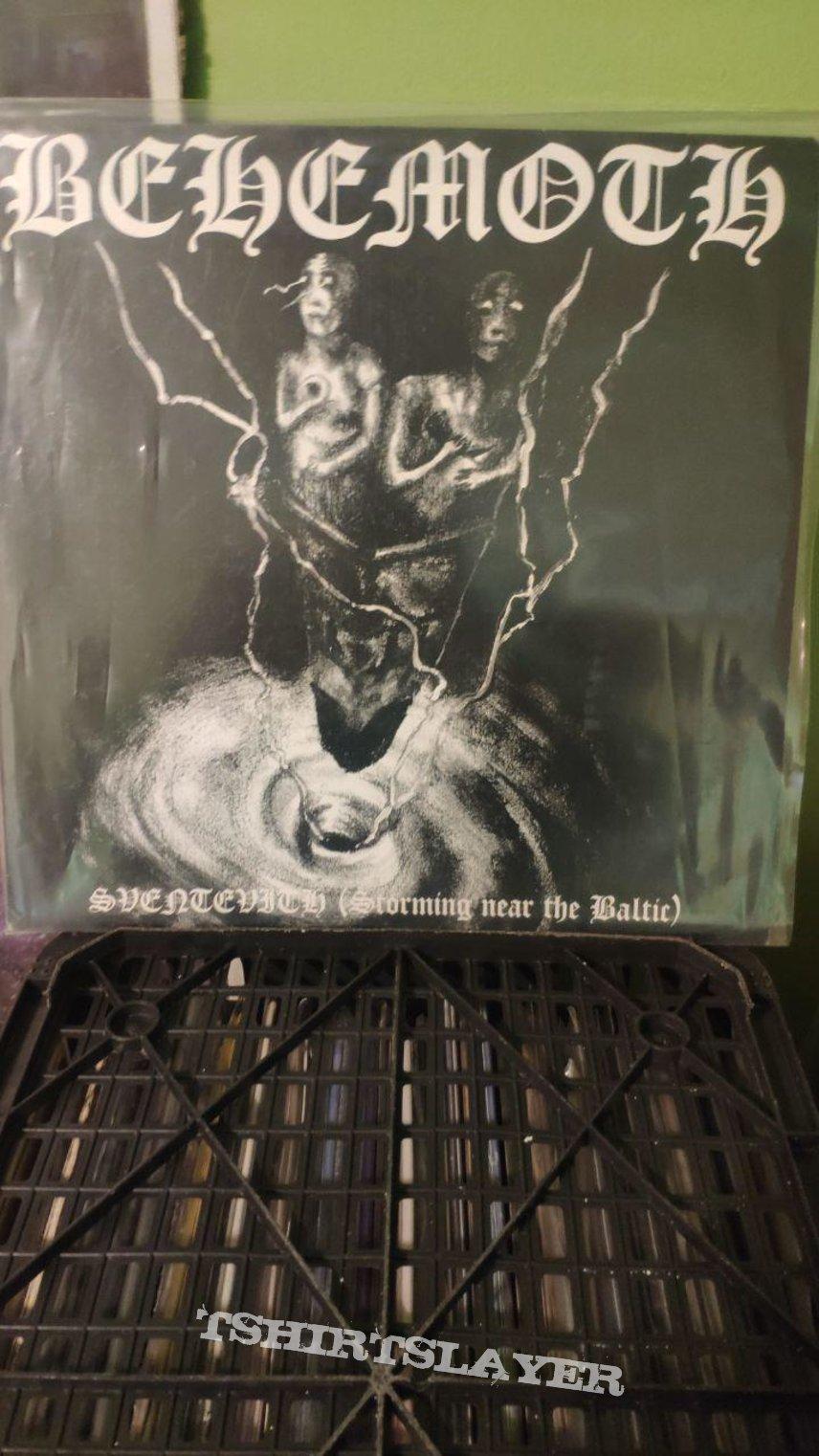 Behemoth - Sventevith 1995 LP Last Epitaph/Pagan Rec