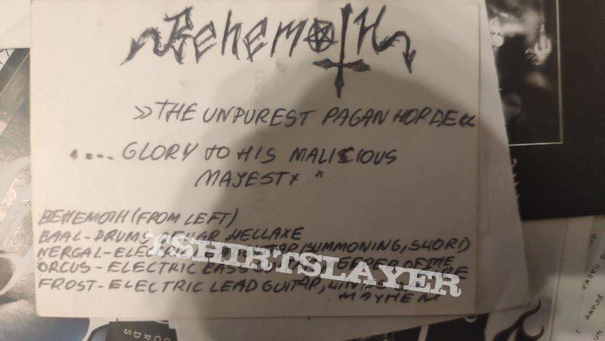 Behemoth - promo band photos