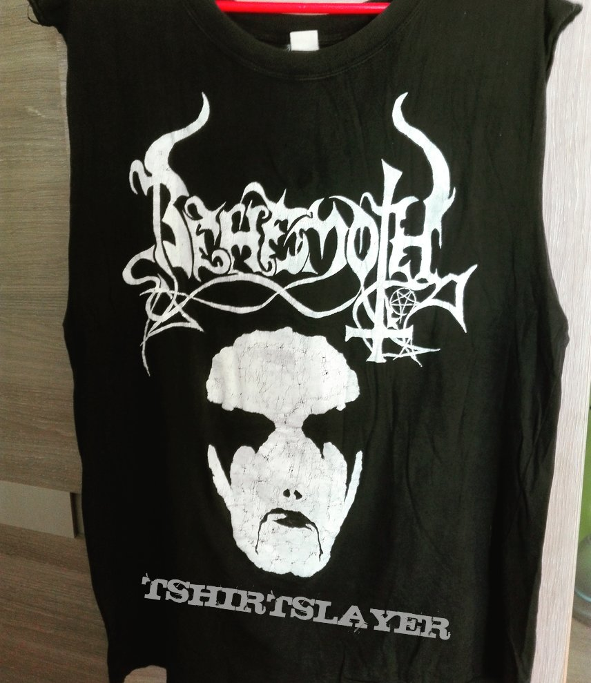 Behemoth From The Pagan Vastlands 93 hand painted tshirt