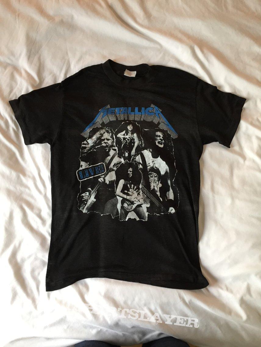 Metallica 80s bootleg shirt