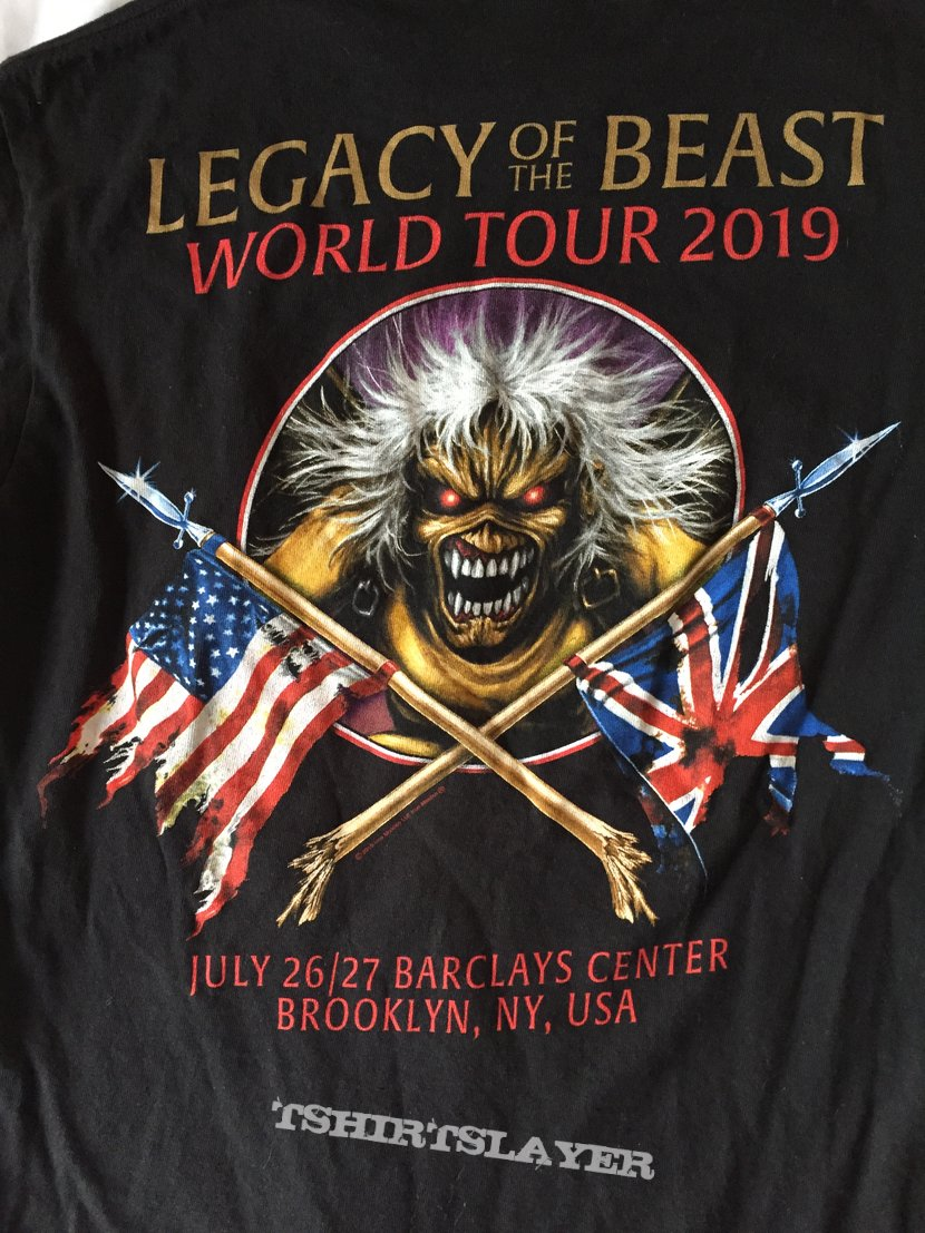 Iron Maiden Legacy of the Beast Brooklyn shirt