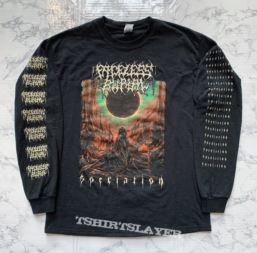 Faceless Burial - Speciation long sleeve, 2020