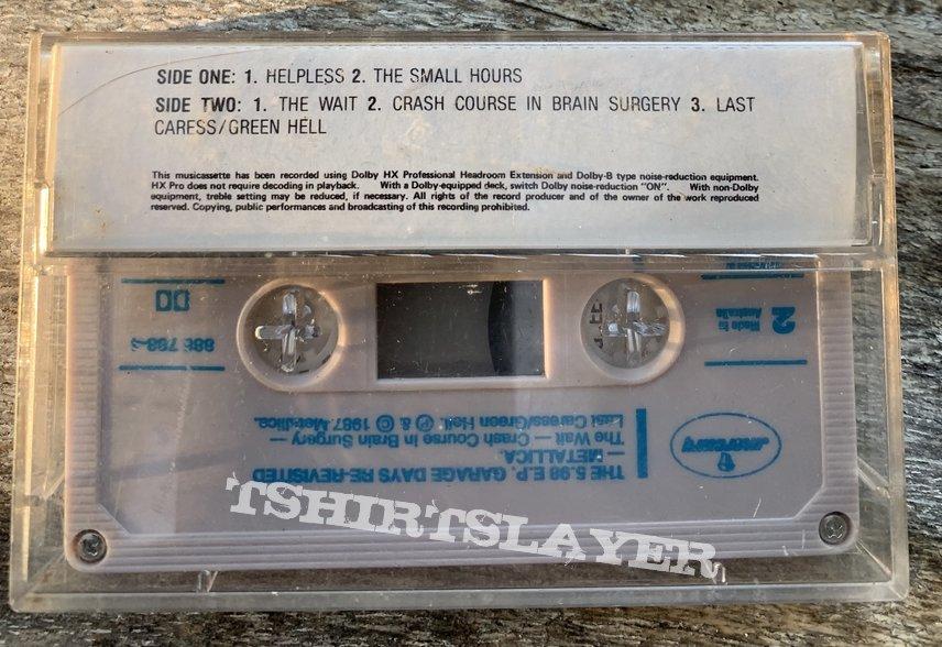 Metallica- Garage days Revisited Tape