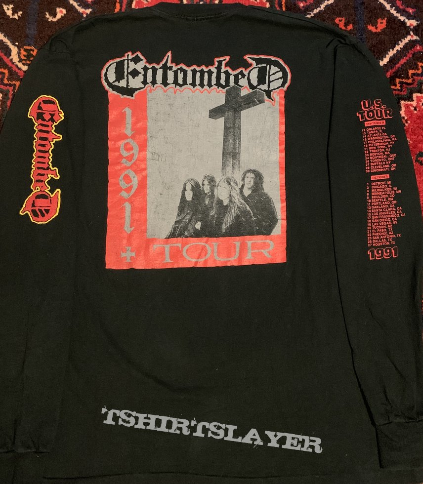 Entombed- LHP 91 US Tour LS