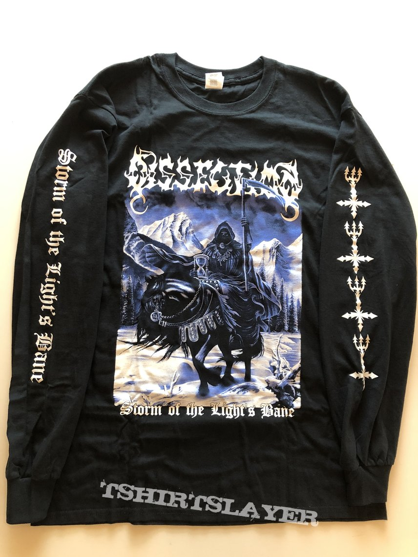 Dissection storm of the lights bane longsleeve