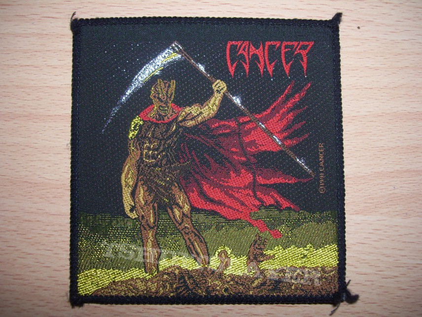 "Patch - Cancer ""Death shall Rise"" patch original"