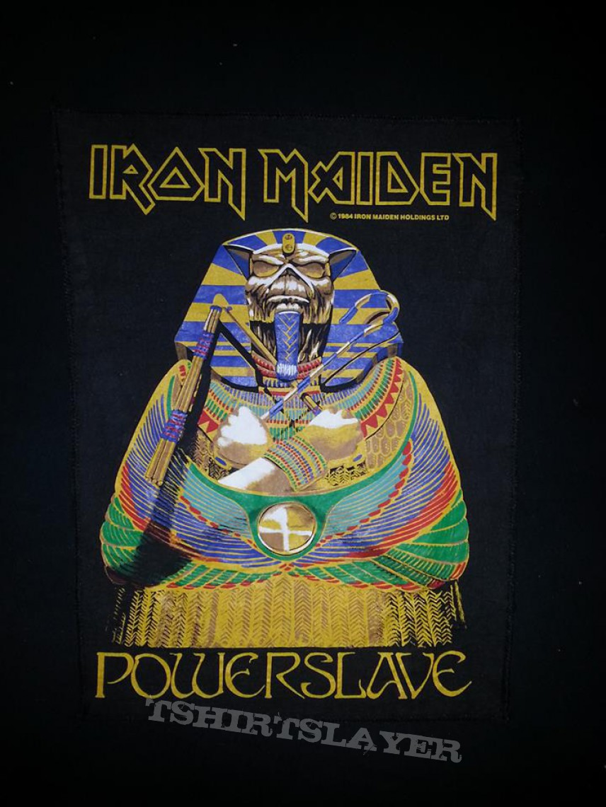 iron maiden powerslave backpatch tshirtslayer tshirt and battlejacket gallery. Black Bedroom Furniture Sets. Home Design Ideas
