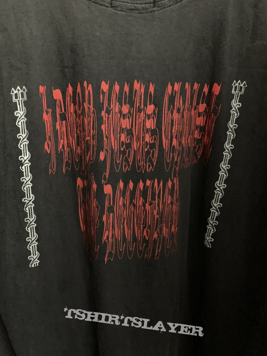 "1992 Impaled Nazarene ""I Deny Jesus Christ..."" Sleevless Shirt"