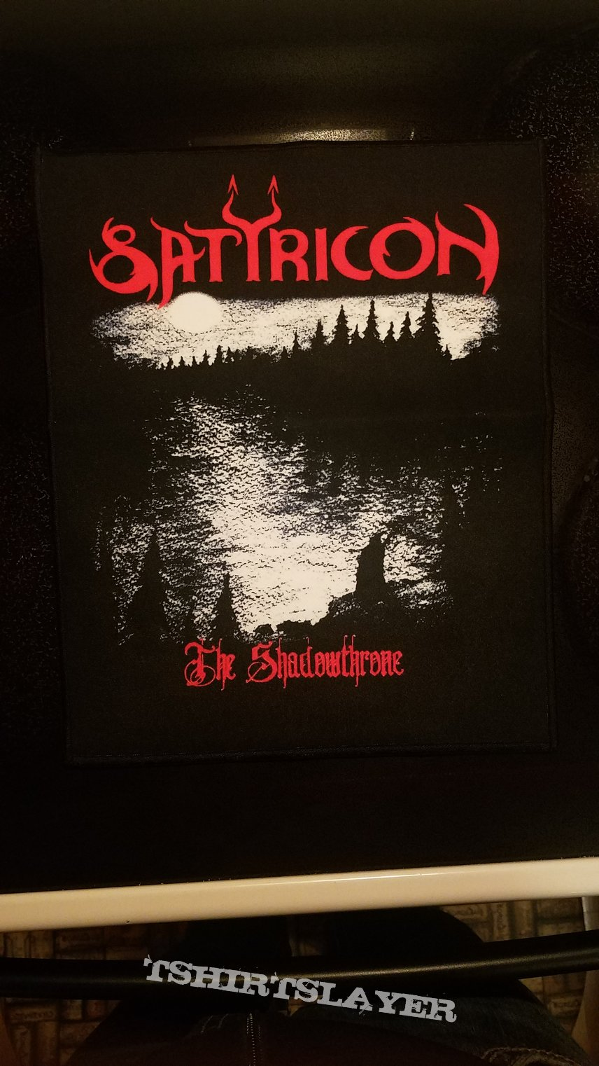 Satyricon back patch The Shadowthrone