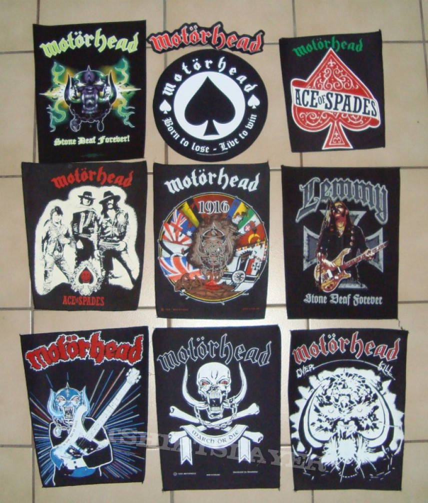 Patch - Motörhead Backpatches