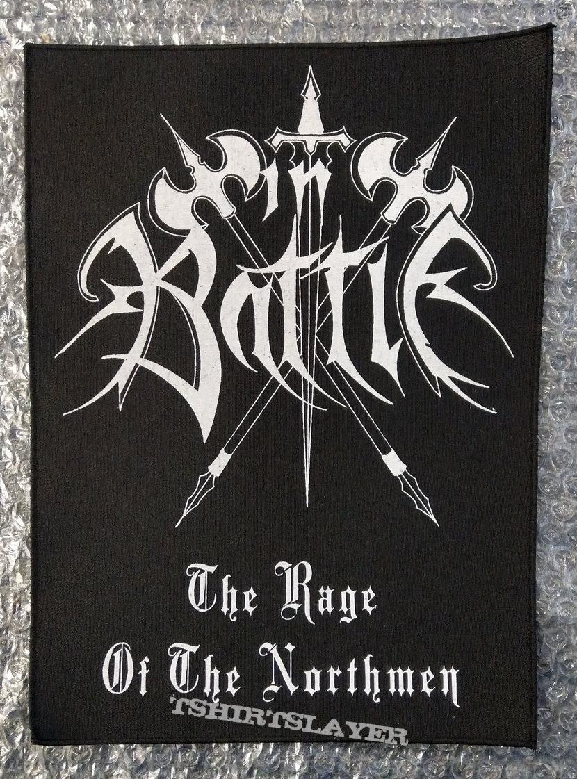 IN BATTLE - Logo (Backpatch)
