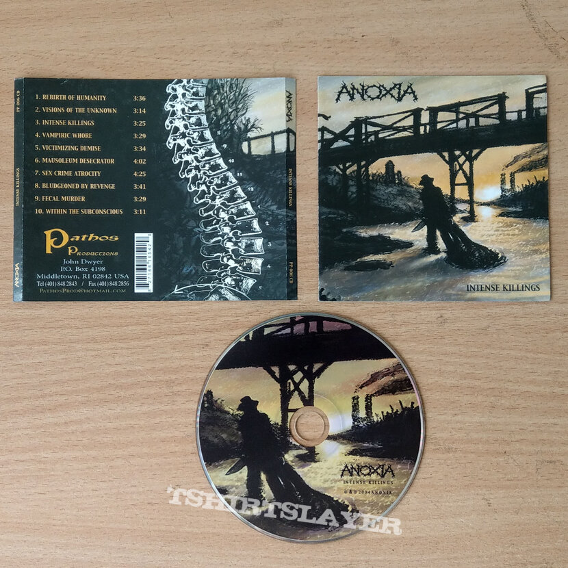 ANOXIA – Intense Killings (CD)