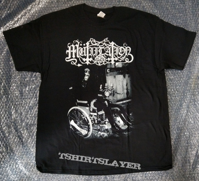 MUTIILATION - Black Millenium (T-Shirt)
